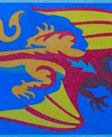 SandArt Dragon
