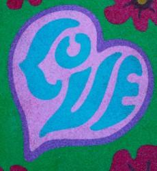SandArt Heart and Love Words