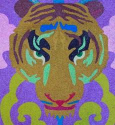 SandArt Tiger